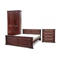 Купить спальный гарнитур из массива