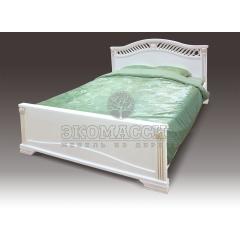 Кровать Оливия из дуба