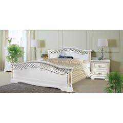 Кровать Милена из дуба