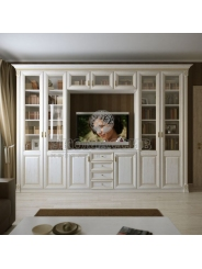 Шкаф с нишеи  под ТВ из серии Пальма