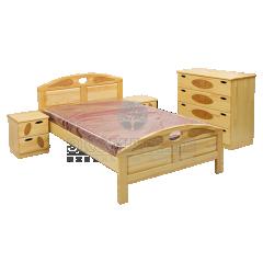 Кровать Галатея (сосна)